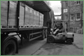 Dalmore Paper Mill 2000-Palletised paper despatch, Alex Cairns, Forklift Driver