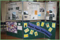Exhibition in Penicuik Town Hall display