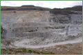 Open cast extraction of china clay<br /> Image courtesy of Imerys Minerals Ltd